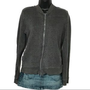 Armani Exchange Zip Up Sweatshirt